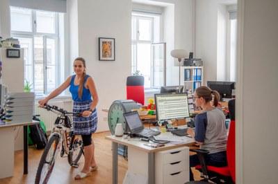 Desiree Szöky, Fahrrad, X-Net