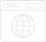 Icon Webseite