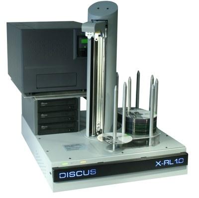 CD/DVD/BD-Robot system DISCUS X-RL